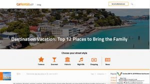 Top 10 Vacation Destinations