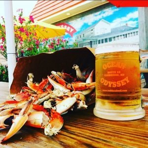 Crab and beer Garden Maryland Crab House